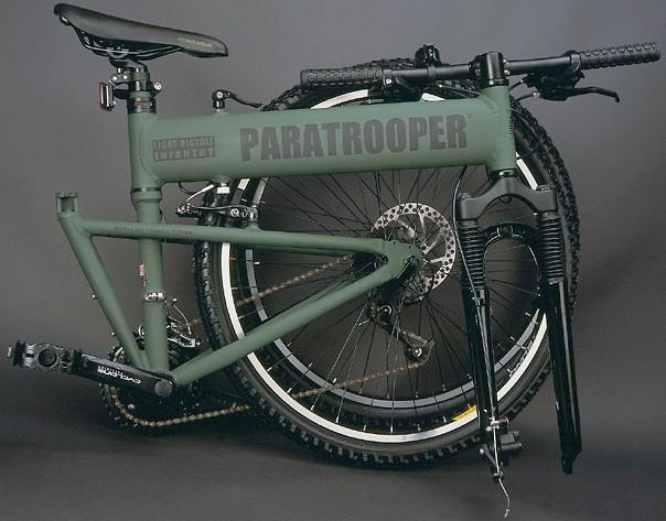 美军的自行车图片